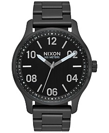 Nixon Men's Patrol Stainless Steel Bracelet Watch 42mm