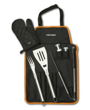 Top Chef 7-Pc. Bbq Set with Carrying Case