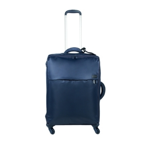 """Lipault New Plume 21"""" Carry-on Spinner Suitcase In Navy"""