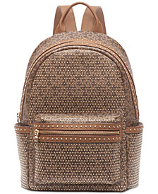 DKNY Faye Stud Logo Backpack, Created for Macy's