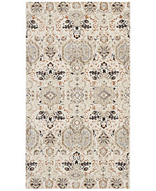 "kathy ireland Home KI34 Silver Screen KI341 2'2"" x 3'9"" Area Rug"