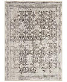 """kathy ireland Home KI34 Silver Screen KI342 Gray 9'10"""" x 13'2"""" Area Rug"""