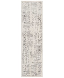 "kathy ireland Home KI34 Silver Screen KI344 2'2"" x 7'6"" Runner Area Rug"