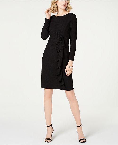 55170e94025 Jessica Howard Ruffled Ruched Stretch Dress & Reviews - Dresses ...