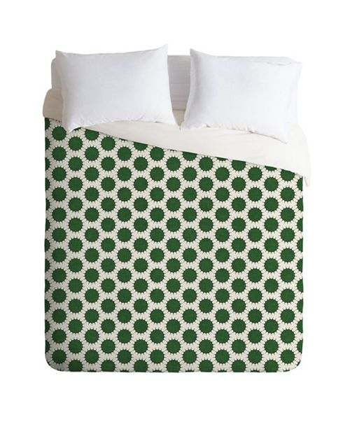 Deny Designs Holli Zollinger Pincushion Dot Queen Duvet Set
