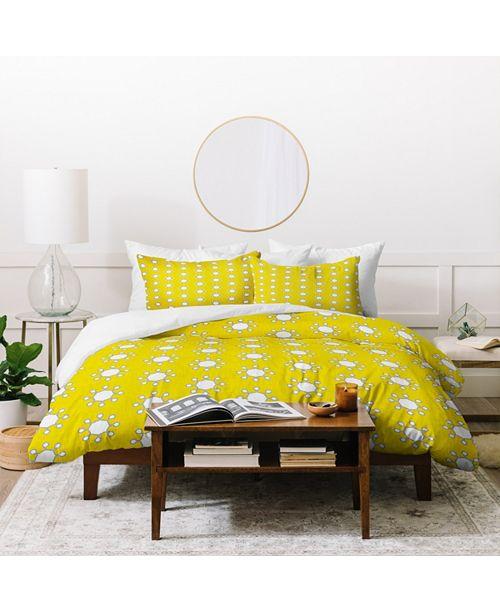 Deny Designs Holli Zollinger Little Suns Twin Duvet Set