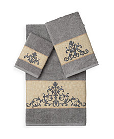Scarlet 3-Pc Towel Set