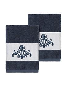 Scarlet 2-Pc. Embellished Washcloth Set