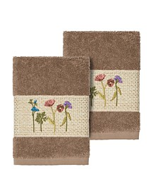 Serenity 2-Pc. Embellished Washcloth Set