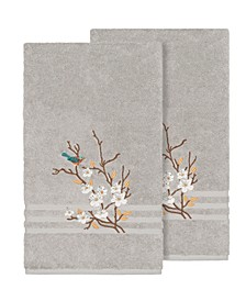 Springtime 2-Pc. Embellished Bath Towel Set
