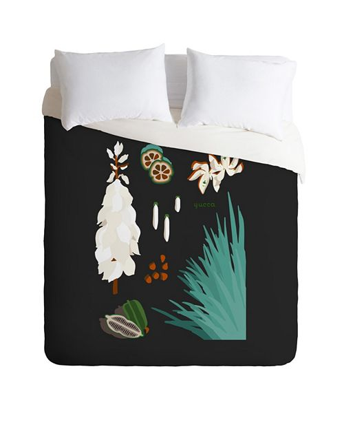 Deny Designs Holli Zollinger Desert Botanical Yucca King Duvet Set