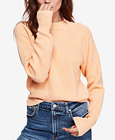 Orange Cowl Neck Womens Sweaters Macys