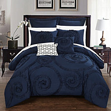 Chic Home Rosalia 7-Pc Queen Comforter Set