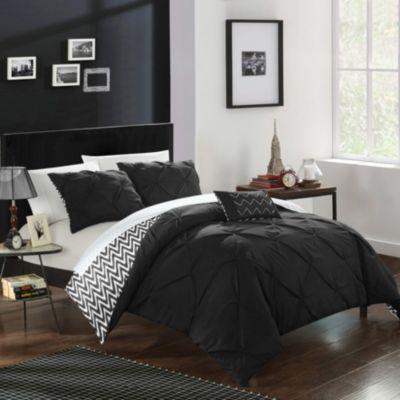 Jacky 4-Pc Full/Queen Comforter Set