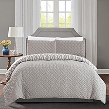 Ora 3-Pc Queen Comforter Set