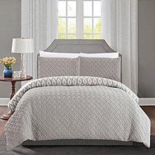 Chic Home Ora 3-Pc Queen Comforter Set