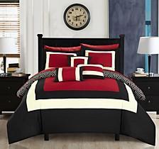 Jake 10-Pc King Comforter Set