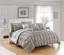 Chic Home Yael 10-Pc Queen Comforter Set