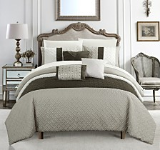 Chic Home Osnat 10-Pc King Comforter Set