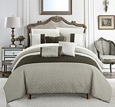 Chic Home Osnat 10-Pc Queen Comforter Set