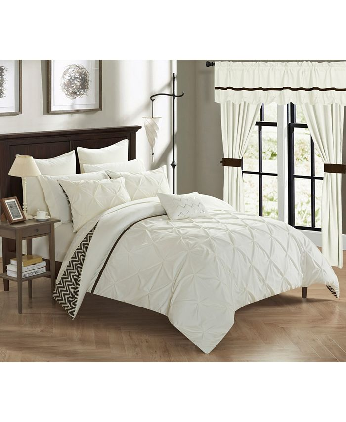 Chic Home - Jacksonville 20-Pc. King Bed In a Bag Comforter Set
