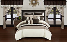 Chic Home Idit 24-Pc Queen Comforter Set