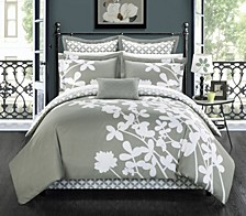 Iris 7-Pc Queen Comforter Set