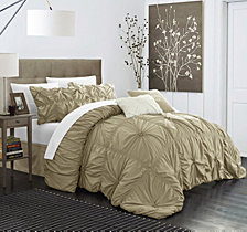 Chic Home Halpert 6-Pc Queen Comforter Set