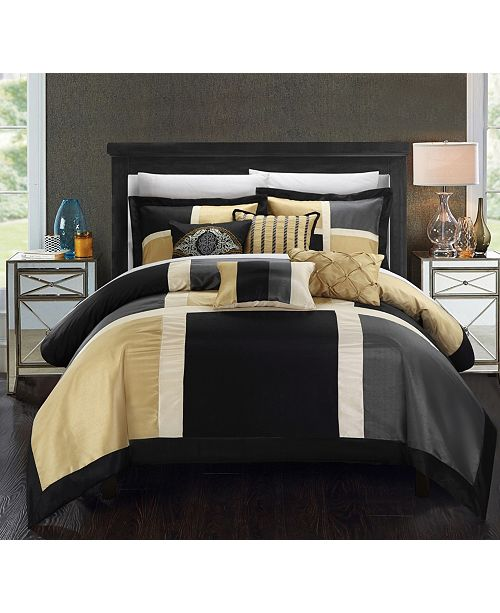 Chic Home Alleta Comforter Set
