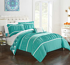 Chic Home Bella 4-Pc Full/Queen Comforter Set