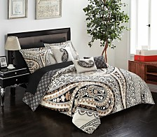 Chic Home Del Mar 10-Pc Queen Comforter Set