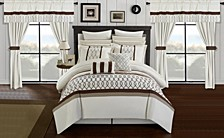 Dinah 24-Pc Queen Comforter Set