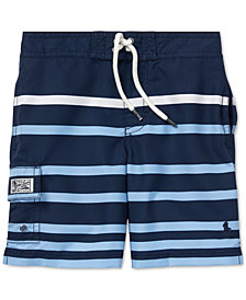 Polo Ralph Lauren Little Boys Kailua Striped Swim Trunks