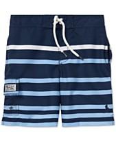 3f46bee9e2d27 Polo Ralph Lauren Toddler Boys Kailua Striped Swim Trunks. Quickview. 2  colors