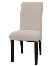 Bella Luna Arch Base Parson Side Chair