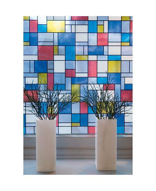 Brewster Home Fashions Mondrian Window Film Set Of 2