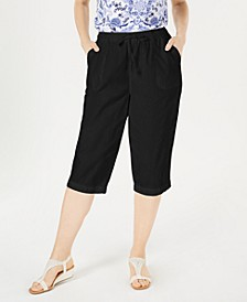 Cotton Cropped Pants, Created for Macy's