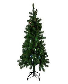 Kurt Adler 5-Foot Pre-Lit Twinkly LED Pine Tree