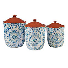 Certified International Porto 3-Pc. Canister Set