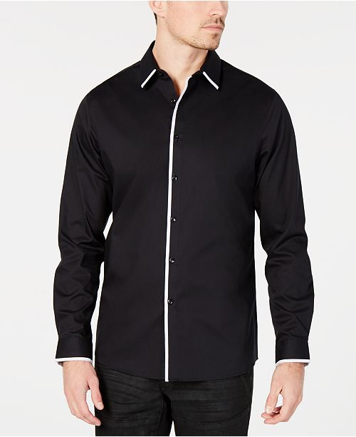 INC International Concepts INC Men's Victor Shirt, Created for Macy's