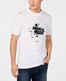 A|X Armani Exchange Men's Splash Logo Print T-Shirt