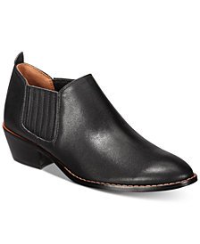 COACH Devin Leather Shooties
