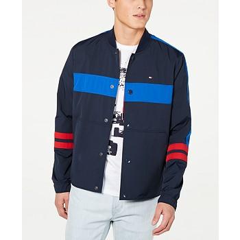 Tommy Hilfiger Men's Coach Colorblocked Track Jacket