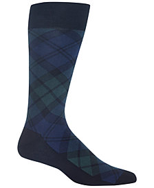 Polo Ralph Lauren Men's Plaid Dress Socks