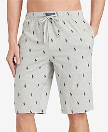 Men's Big & Tall Cotton Pajama Shorts