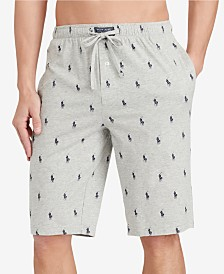 Polo Ralph Lauren Men's Big & Tall Cotton Pajama Shorts