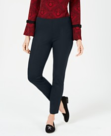 Charter Club Seamed Pull-On Pants, Created for Macy's