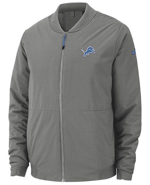 timeless design bf39e 24f3d Men's Detroit Lions Bomber Jacket