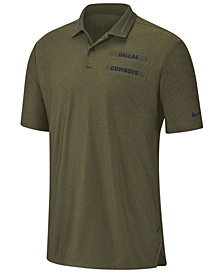 Nike Men's Dallas Cowboys Salute To Service Polo