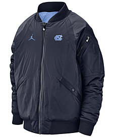 Jordan Men's North Carolina Tar Heels Iconic Diamond Shape Bomber Jacket